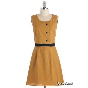 Mod Mustard ModCloth dress